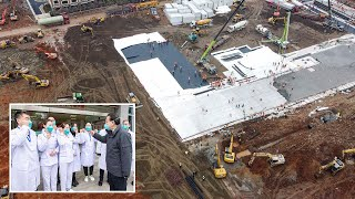 Can China really build a coronavirus hospital in a few days?