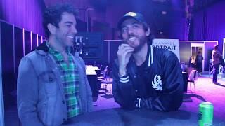 Ty Bentli Backstage with Chris Janson - 2018 CMA Awards Rehearsals
