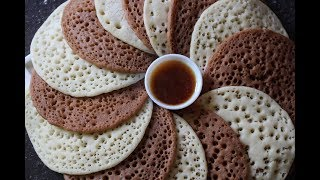Moroccan Baghrir recipe bangla/Moroccan semolina Pancakes