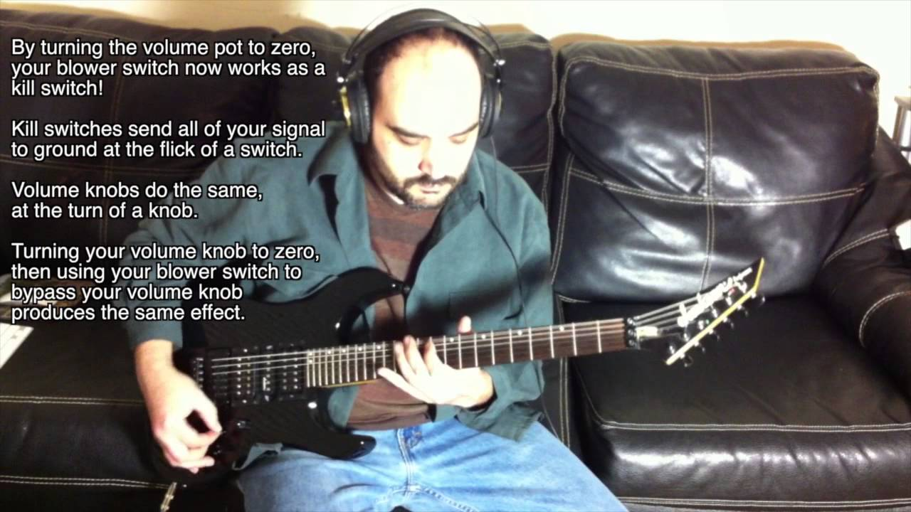 How A Blower Switch Works - Project DIVIDE Guitar Mods - YouTube