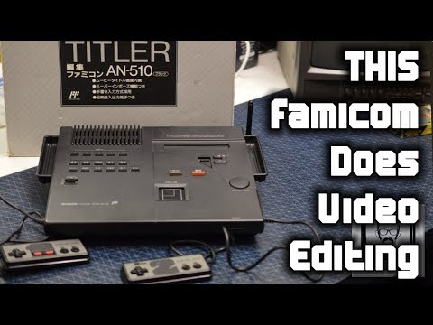 Famicom Titler: A $400 NES That Edits Videos | Nostalgia Nerd