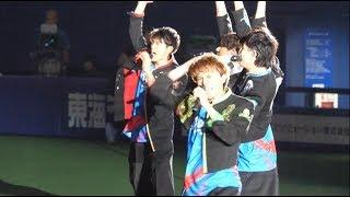 「BOYS AND MEN - ドラMAX!!! ~オレらの憧れ竜戦士~」20180810 ナゴヤドーム ブルーサマーシリーズ 2018 Blue Summer Night