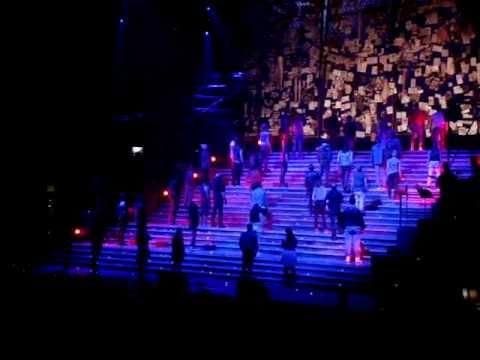 Finale of Jesus Christ Superstar, London O2 Arena
