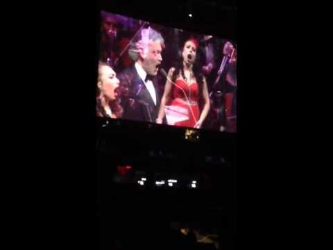 Andrea Bocelli duet!!! Amazing