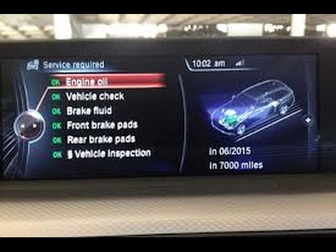 How to Check Your Vehicle Satus , Service Schedule  and Rest your Run Flat Tyre indicator in a BMW.