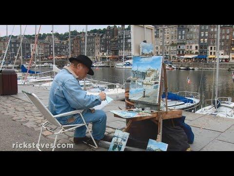 Honfleur, France: Easygoing Marina