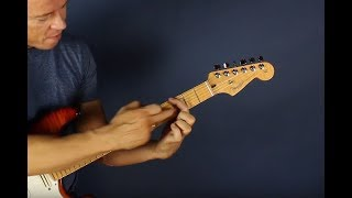 """Never play """"barre chords"""" - Do this instead"""