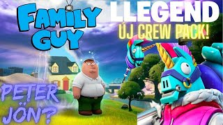 Fortnite - Family Guy Crossover? Llegend Lamabro Márciusi Crew Pack! #fortnitehírek
