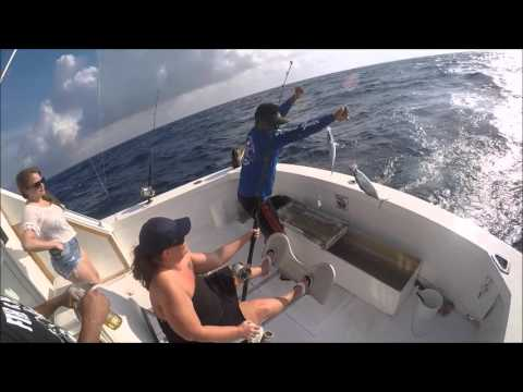 Deep Sea Fishing Cancun 2016