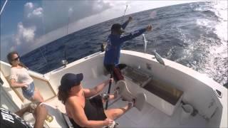 Deep Sea Fishing Cancun 2016