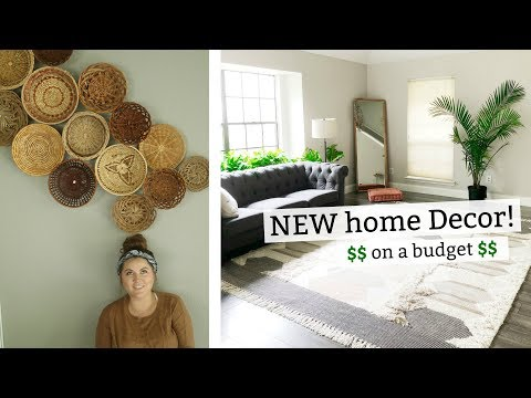 Minimalist Decor on a BUDGET + all second hand