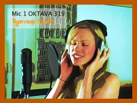 Mic Shootout at Tigersonic Studio Neumann U87 vs Oktava 319 vs Shure SM58 vs AKG 3000 female singer