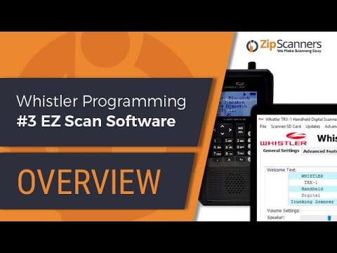 Whistler Police Scanner Programming Guide