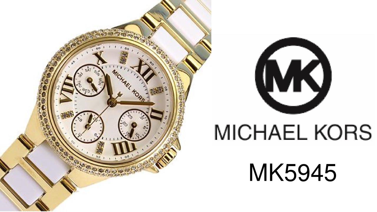 Reloj Michael Kors MK5945 - YouTube 1b409c9ca4