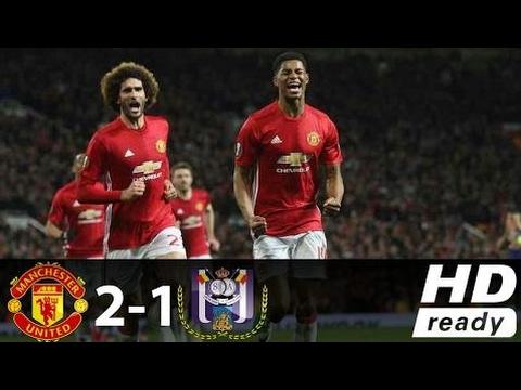 Manchester United Vs Anderlecht 2-1 Todos Los Goles Y Destacados Destacados -Europa League - 20/04/