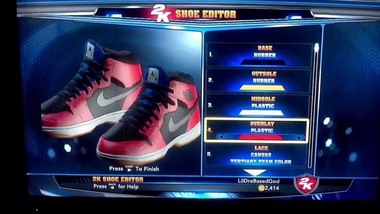 349210f88fa NBA 2K14 Shoe Editor: Air Jordan 1
