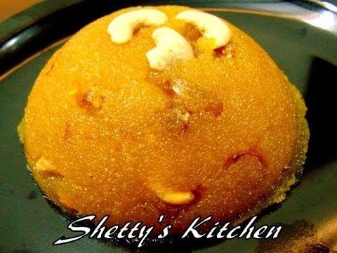 а≤Ха≥За≤Єа≤∞а≤њ а≤ђа≤Ња≤§а≥Н а≤Ѓа≤Ња≤°а≥Ба≤µ а≤µа≤ња≤Іа≤Ња≤® | Kesari Bath recipe in Kannada