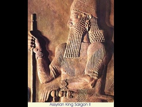 Events of the 710s BC part 1 Sargon II, king of Assyria