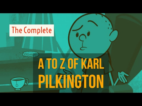 The Complete A to Z of Karl Pilkington - Best Bits (2017 compilation w/ Ricky Gervais & S Merchant)