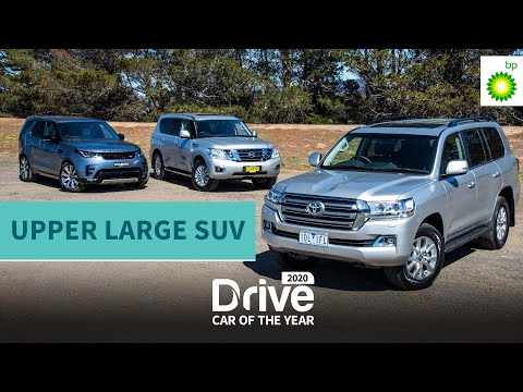 2020 Best Upper Large SUV: Toyota LC200, Nissan Patrol, Land Rover Discovery | Drive Car of the Year