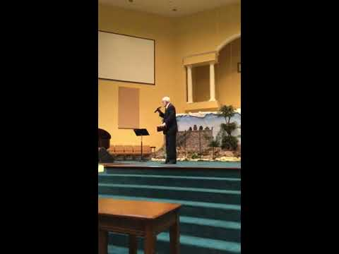 Bro. Jack Cox Sings Fill My Cup Lord(Pubic Domain)