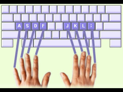 How to Develop Blind Typing Skill - Type Without Seeing Keys