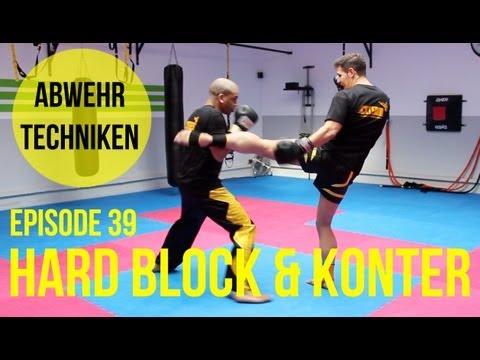 Kickbox Training #39 - Hard Block Und Konter / Abwehrtechnik / Kickboxen / Boxen Lernen