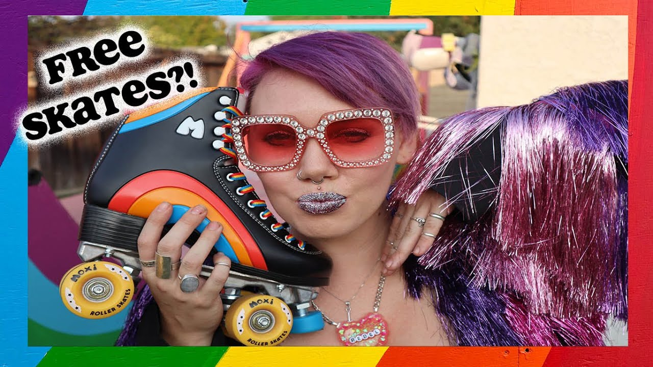 GIVING AWAY TEN PAIRS OF ROLLER SKATES! QGSS X Moxi Roller Skates' Rainbow Rider Runway Competition!