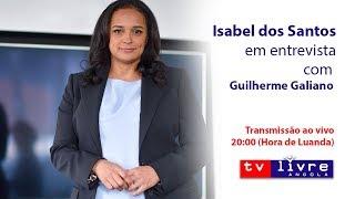 Isabel dos Santos em Grande Entrevista