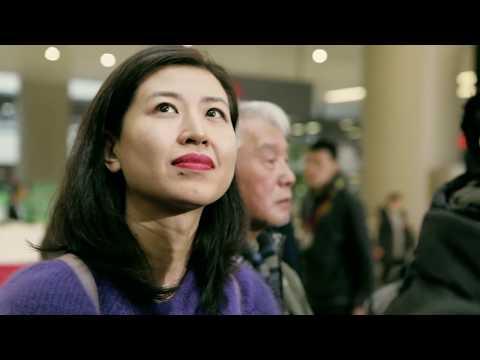 上海虹桥机场:我和我的祖国 (交响乐)「快闪」