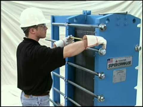 Tranter Plate Amp Frame Heat Exchanger Tightening