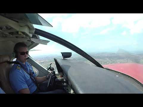 Arrival And Landing Over Kampala To Kajjansi (MAF Base