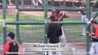Michael Howard Prospect Video, OF, Oregon State