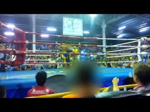 Thaiboxingia Thaimaasta, (Krabi Thai Boxing Stadium)