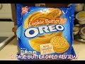 COOKIE BUTTER OREO TASTE TEST REVIEW!