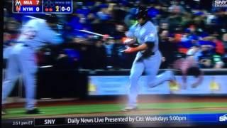 Stanton HomeRun vs. Mets 4/11/16