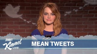 Repeat youtube video Celebrities Read Mean Tweets #7