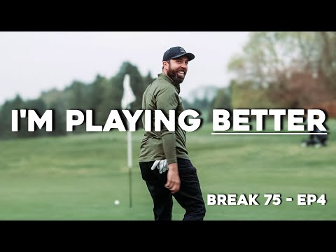 My golf is IMPROVING! #Break75 EP4