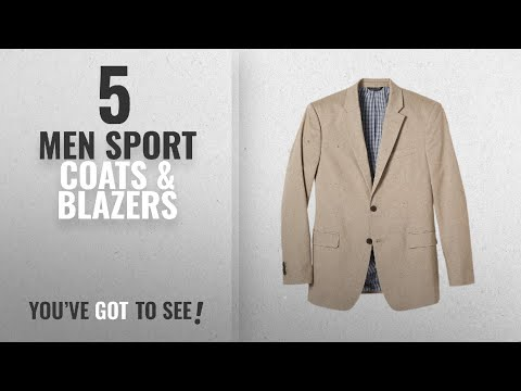 Banana Republic Sport Coats & Blazers [ Winter 2018 ]: Banana Republic Men's Standard-Fit Cotton