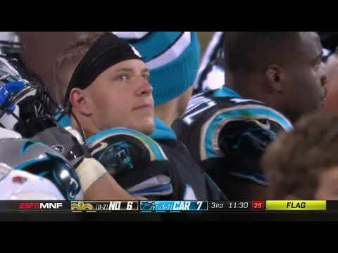New Orleans Saints Vs Carolina Panthers 2018 MNF 2nd Half Week 15