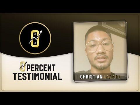 Christian Lazaro Testimonial