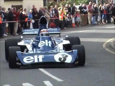 Jackie Stewart Tyrrell 006 At Bourne BRM Day 2012