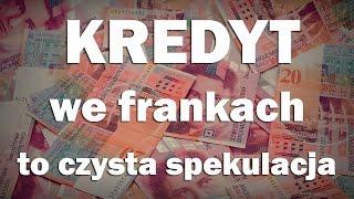Kredyt frankowy to czysta spekulacja - Ekonomia dla każdeo #12