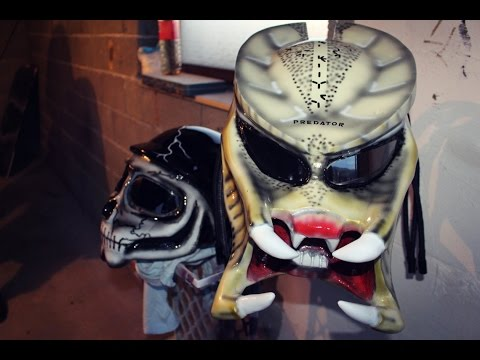 Predator Helmet & Skull - Custom Motorcycle Helmets