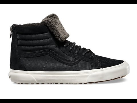 edc4f73259117d Shoe Review  Vans California SK8-Hi Zip T.O. MTE (Black Fleece) - YouTube