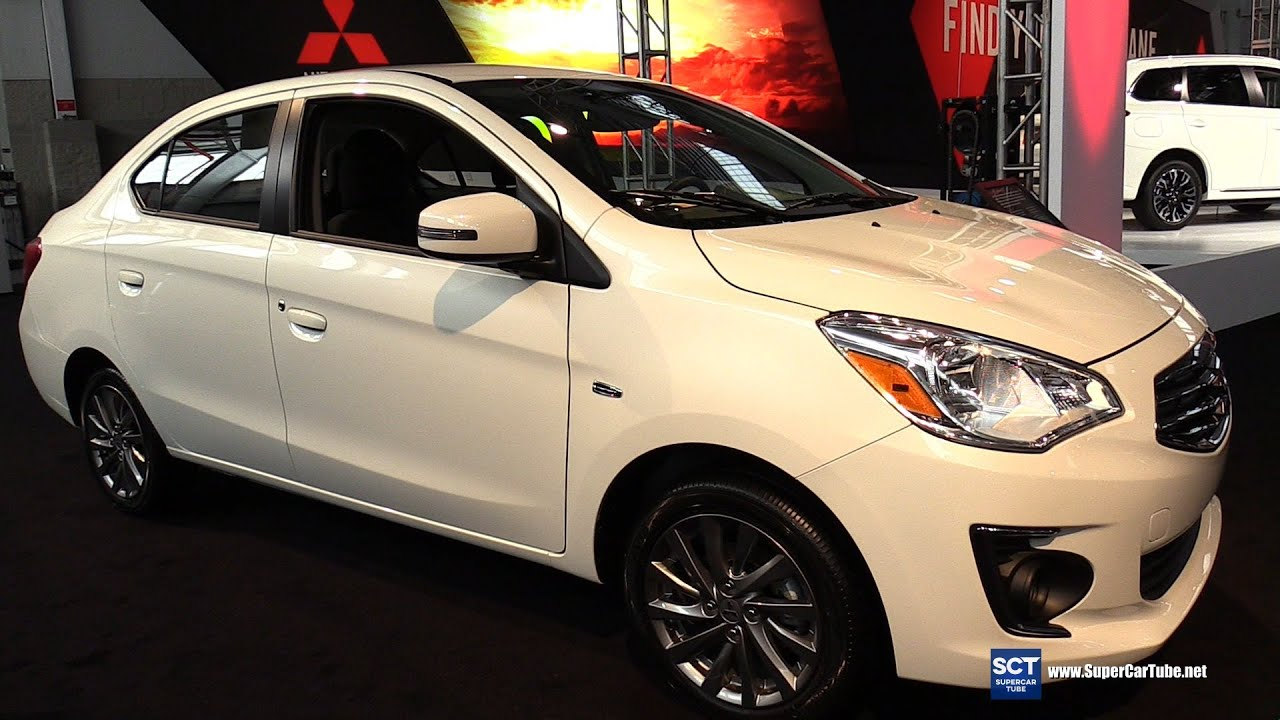 2017 Mitsubishi Mirage Gt Exterior And Interior Walkaround Debut At 2016 New York Auto Show You