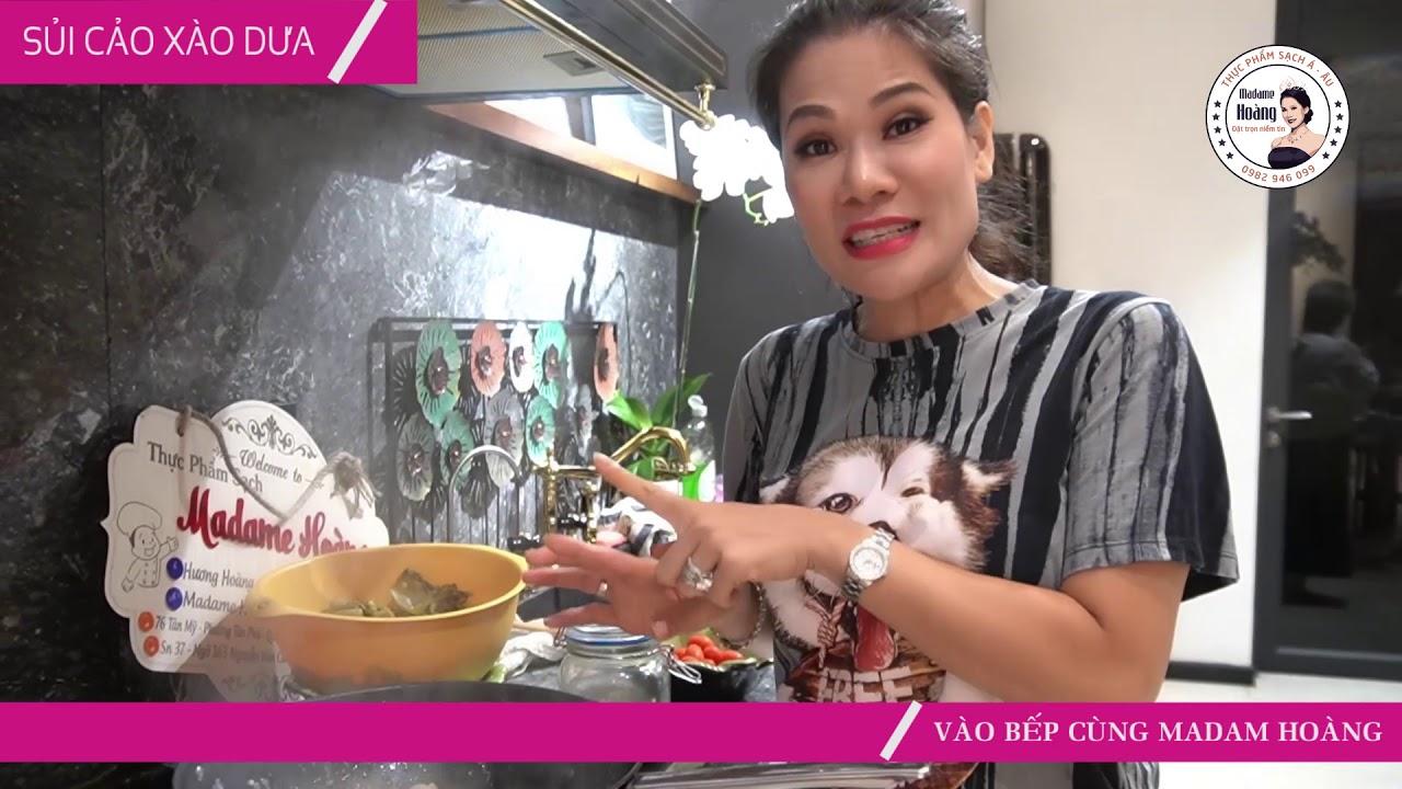 Vào Bếp Cùng Hương Hoàng | Sủi Cảo Xào Dừa – Món Ngon Khó Cưỡng