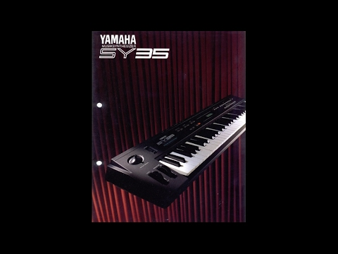 YAMAHA SY35 Factory Demo Songs 1992