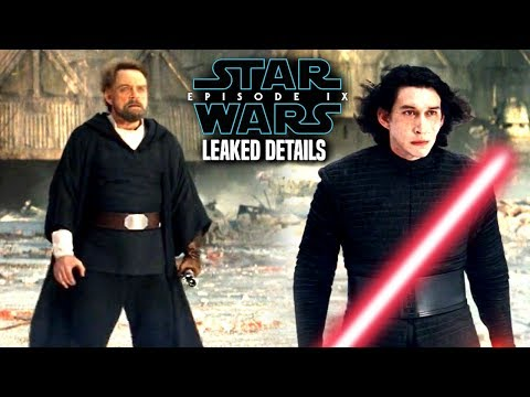 Star Wars Episode 9 Luke! Leaked Details & Potential Spoilers