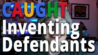 Caught! Lawyers Invented Defendants to Censor Google